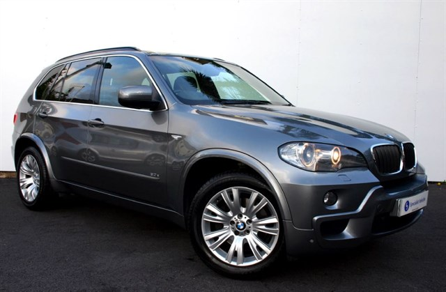 used BMW X5 3.0D M Sport Auto - SAT NAV - FULL BLACK LEATHER - FSH in plymouth-devon