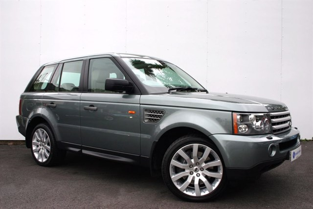 used Land Rover Range Rover Sport TDV8 Sport HSE Auto - IVORY LEATHER - REAR ENTERTAINMENT  in plymouth-devon