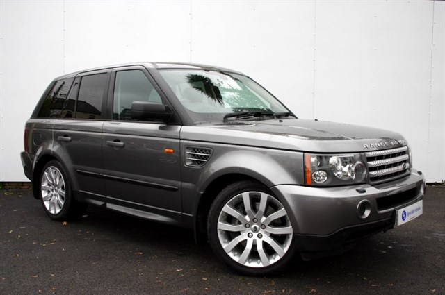 "used Land Rover Range Rover Sport TDV8 HSE - SAT NAV - 20"" ALLOYS - EBONY PREMIUM LEATHER - FULL HISTORY in plymouth-devon"