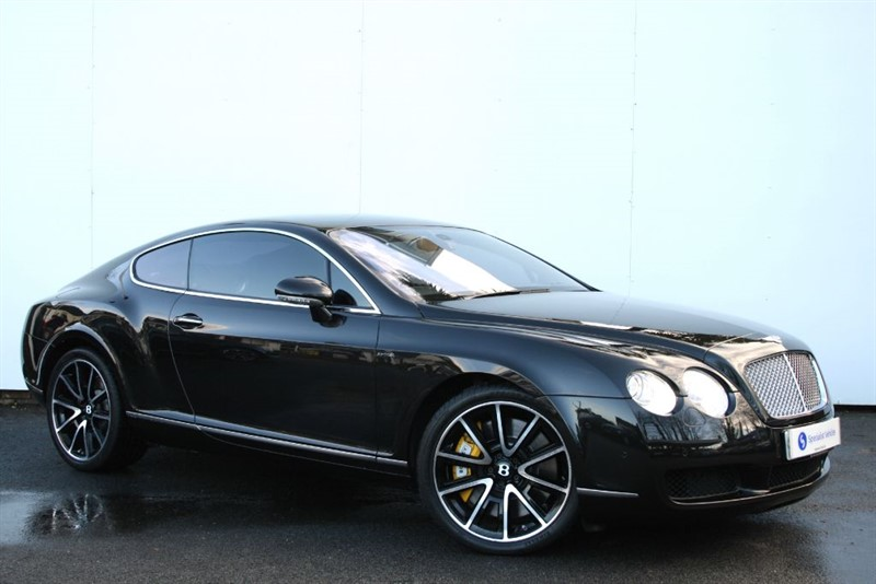 """used Bentley Continental GT - LOW MILEAGE - SAT NAV - 20"""" ALLOYS - BLACK LEATHER - FULL SERVICE HISTORY in plymouth-devon"""