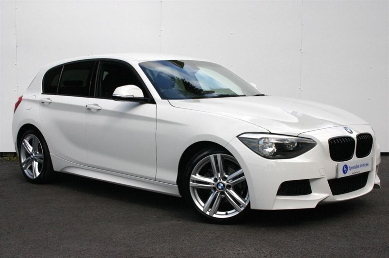 "used BMW 116i M Sport - VERY LOW MILEAGE - 1 OWNER - FULL BMW SERVICE HISTORY -18"" ALLOYS in plymouth-devon"