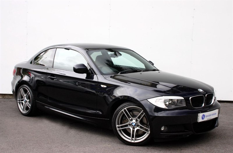 "used BMW 123d Sport Plus Edition Coupe - LOW MILEAGE - 18"" ALLOYS - LEATHER - FULL BMW SH in plymouth-devon"