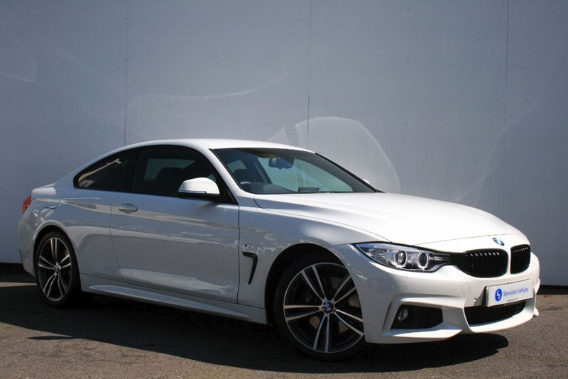 used BMW 420d M Sport - STUNNING!! - HUGE SPECIFICATION - M SPORT PLUS PACKAGE in plymouth-devon