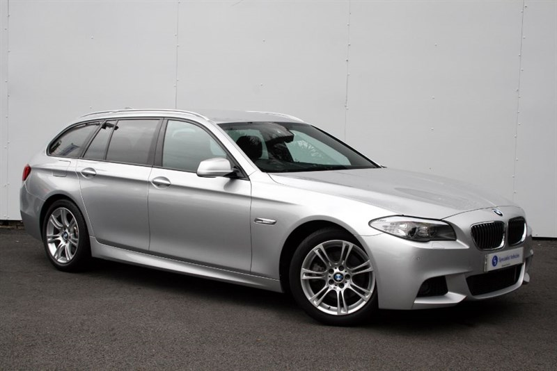 used BMW 520d M Sport Touring - VERY LOW MILEAGE - SAT NAV - LEATHER - FULL BMW HISTORY in plymouth-devon