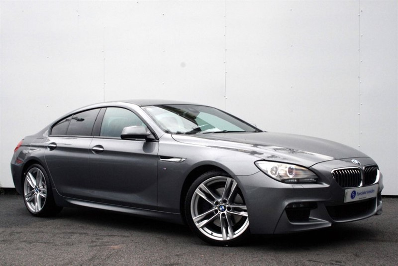 "used BMW 640d M Sport Gran Coupe - COMFORT FULL LEATHER SEATS-20"" ALLOYS-FULL BMW HISTORY in plymouth-devon"