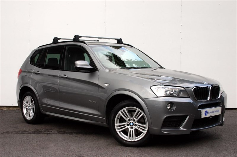 used BMW X3 xDrive20d M Sport  - FULL LEATHER - LOW MILEAGE -FBMWSH- FREE SERVICE PACK  in plymouth-devon