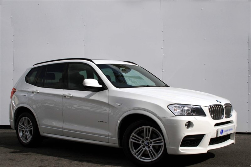 used BMW X3 xDrive35d M Sport - PANORAMIC SUNROOF - XENONS - FULL BMW HISTORY in plymouth-devon