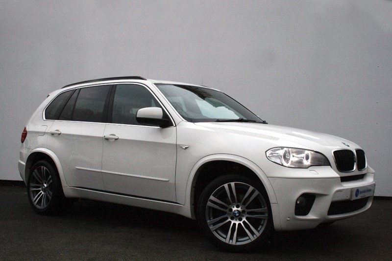 "used BMW X5 xDrive30d M Sport ~ 7 SEATS~PRO NAV~HEATED LEATHER~20"" ALLOYS~BMW HISTORY in plymouth-devon"
