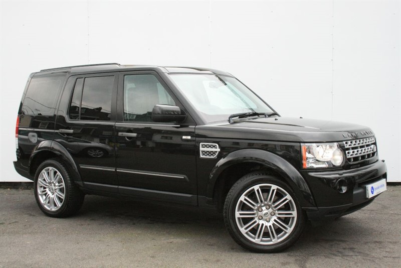 used Land Rover Discovery 4 SDv6 HSE - 7 SEATS~SAT NAV~HEATED LEATHER~SUNROOF~FULL LAND ROVER HISTORY in plymouth-devon