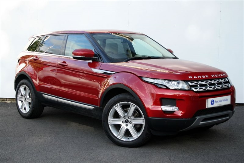 "used Land Rover Range Rover Evoque SD4 Prestige LUX - PANO ROOF - SAT NAV - LEATHER - 19"" ALLOYS - FULL LR SH in plymouth-devon"