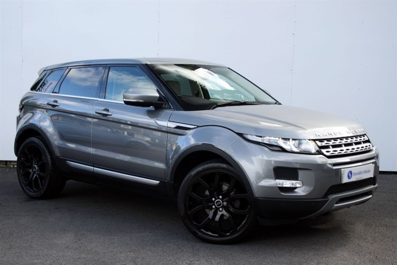 "used Land Rover Range Rover Evoque SD4 Prestige LUX - PANO ROOF - SAT NAV - LEATHER - 20"" ALLOYS - FULL LR SH in plymouth-devon"
