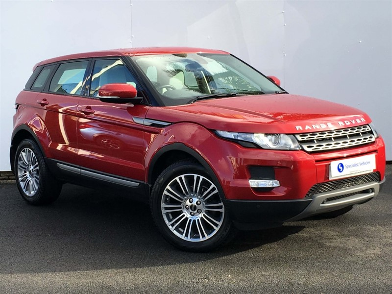 used Land Rover Range Rover Evoque SD4 Pure Tech - SAT NAV - REAR ENTERTAINMENT - LEATHER - FULL LAND ROVER SH in plymouth-devon