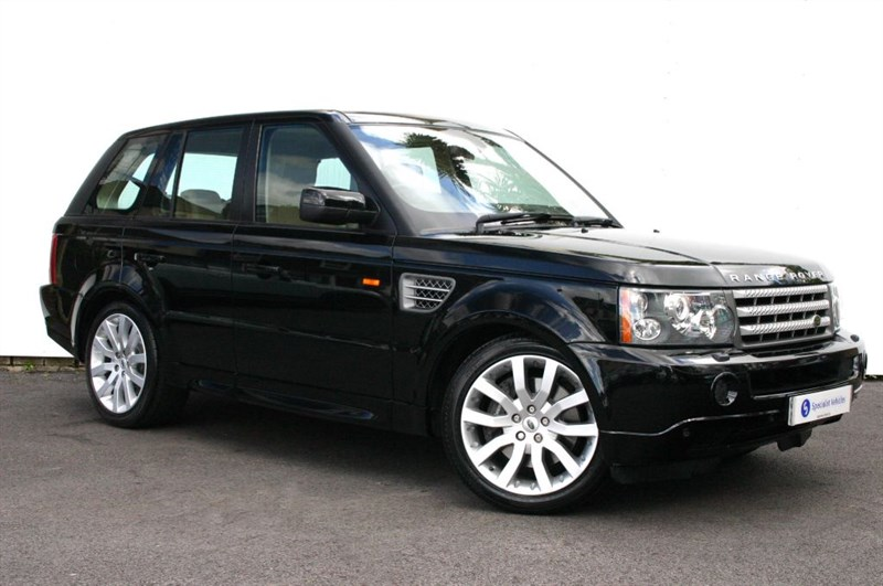 "used Land Rover Range Rover Sport TDV8 Sport HSE Auto - REAR ENTERTAINMENT -20"" ALLOYS- LEATHER- FULL HISTORY in plymouth-devon"