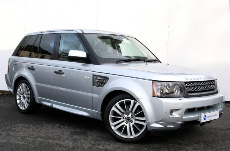 """used Land Rover Range Rover Sport TDv8 HSE -FACELIFT-20"""" ALLOYS-SAT NAV-FULL COLOUR-FULL LAND ROVER HISTORY in plymouth-devon"""