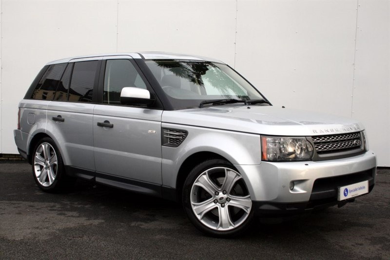 """used Land Rover Range Rover Sport TDv8 HSE -FACELIFT -SUNROOF- 20"""" ALLOYS - SAT NAV - FULL LAND ROVER HISTORY in plymouth-devon"""