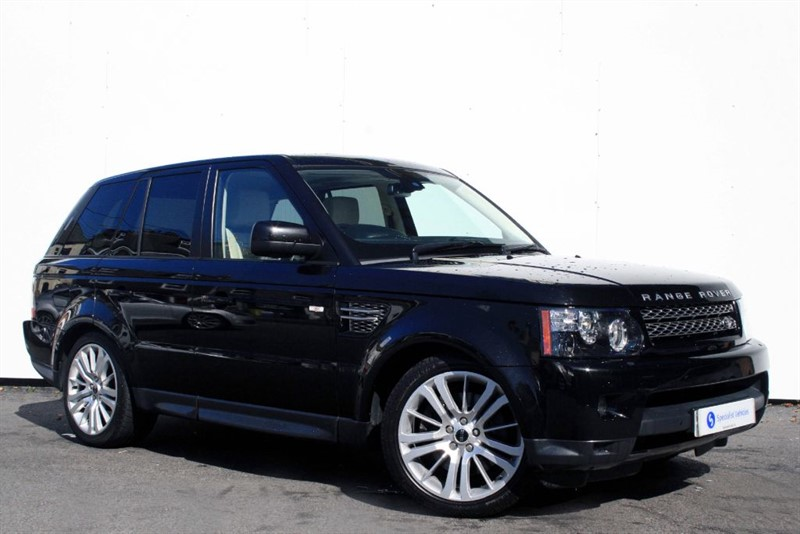 used Land Rover Range Rover Sport SDV6 HSE - FULL IVORY LEATHER INTERIOR - FULL LAND ROVER HISTORY - 1 OWNER in plymouth-devon