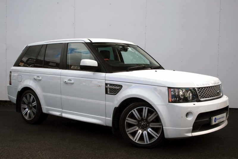 "used Land Rover Range Rover Sport SDV6 Autobiography Sport~FULL HEATED LEATHER~SAT NAV~20"" ALLOYS~FUJI WHITE in plymouth-devon"