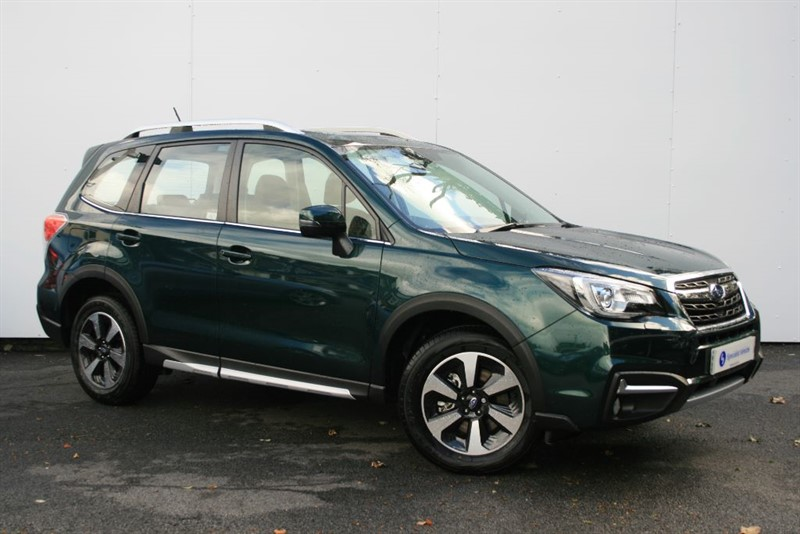 used Subaru Forester 2.0 D XC PREMIUM HUNTER GREEN SPECIAL EDITION - SAT NAV - FULL LEATHER  in plymouth-devon