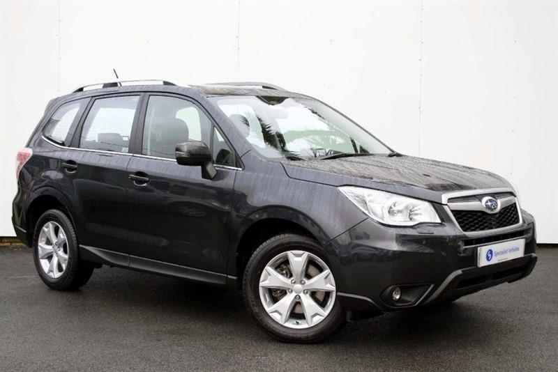 "used Subaru Forester 2.0D XC Premium - SAT NAV - DAB - SUNROOF - BLACK LEATHER - 17"" ALLOYS in plymouth-devon"