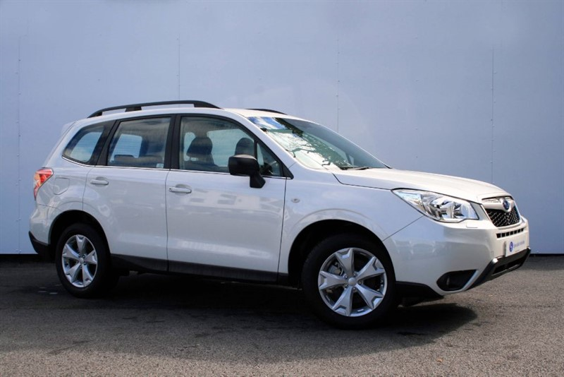 used Subaru Forester 2.0D X - SUBARU SYMETRICAL ALL WHEEL DRIVE  in plymouth-devon