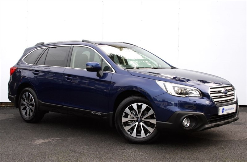 "used Subaru Outback 2.0D SE Premium - EYESIGHT - SAT NAV - BLACK LEATHER - 18"" ALLOYS in plymouth-devon"