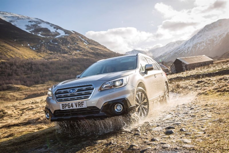 used Subaru Outback D SE PREMIUM - FULL LEATHER - SATELLITE NAVIGATION - 5 YEAR WARRANTY in plymouth-devon