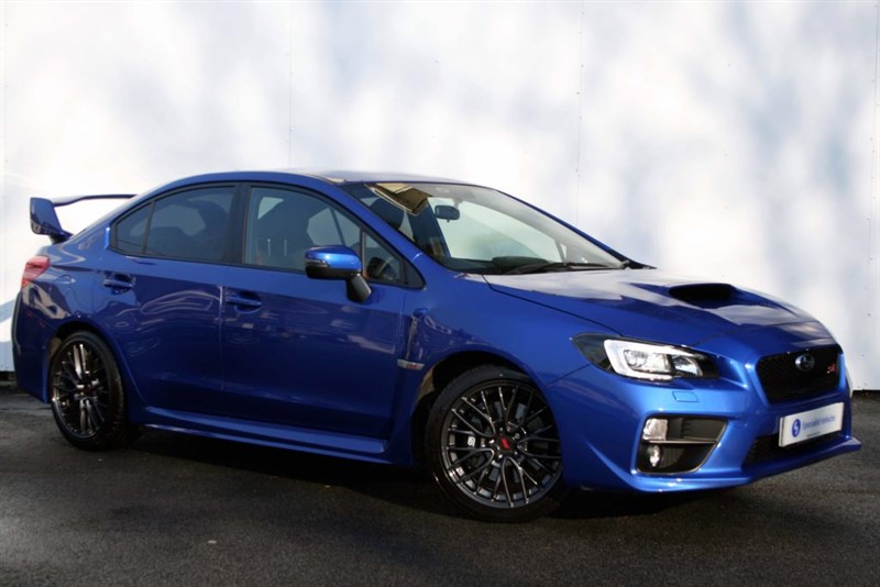 used Subaru WRX STI NEW - SUBARU SYMMETRICAL ALL WHEEL DRIVE - 3 YEAR WARRANTY in plymouth-devon