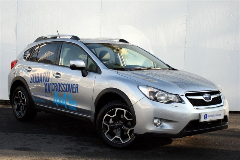 "used Subaru XV 2.0D SE Premium - SAT NAV - BLACK LEATHER - 17"" ALLOYS in plymouth-devon"