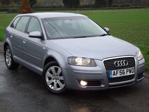 used Audi A3 TDI SE SPORTBACK S TRONIC PADDLESHIFT AUTO - NEW CAMBELT in oxfordshire