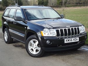 used Jeep Grand Cherokee V6 CRD LIMITED - LEATHER~NAV~REAR DVD ENTERTAINMENT in oxfordshire
