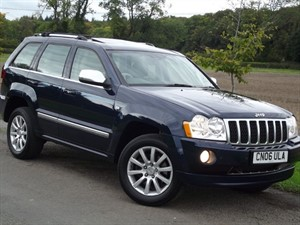 used Jeep Grand Cherokee V6 CRD OVERLAND - EXCELLENT CONDITION - BIG SPEC in oxfordshire