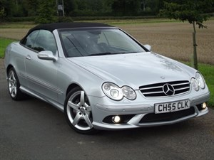 used Mercedes  CLK 350 SPORT - KEYLESS GO - LEATHER - NAV - E/H/SEATS - XENONS in oxfordshire