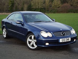 used Mercedes CLK240 CLK 240 ELEGANCE + FULL LEATHER in oxfordshire