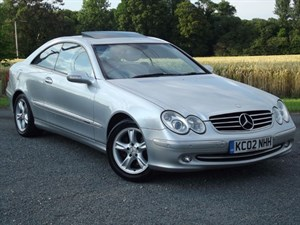 used Mercedes CLK320 CLK320 AVANTGARDE in oxfordshire