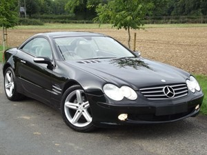 used Mercedes SL350 SL350 - CREAM LEATHER - SAT NAV in oxfordshire