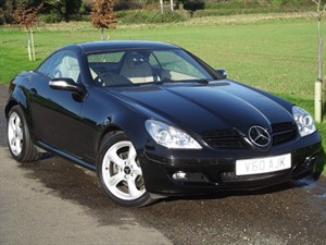 used Mercedes SLK280 SLK 280 - CREAM LEATHER - AIR SCARF - VERY LOW MILES in oxfordshire