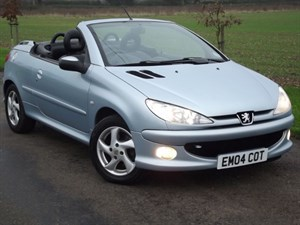 used Peugeot 206 ALLURE S COUPE CABRIOLET + FULL LEATHER in oxfordshire