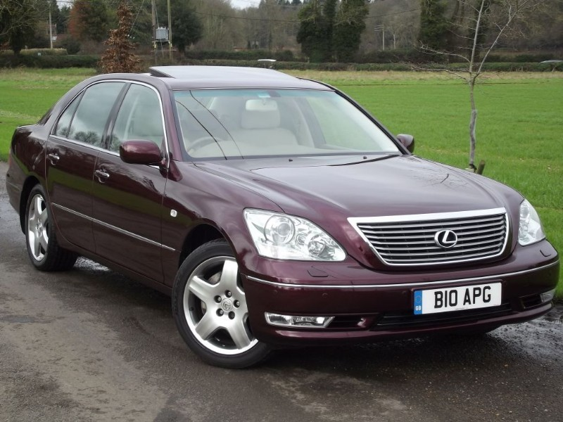 lexus ls 430 for sale in oxfordshire from continental cars. Black Bedroom Furniture Sets. Home Design Ideas