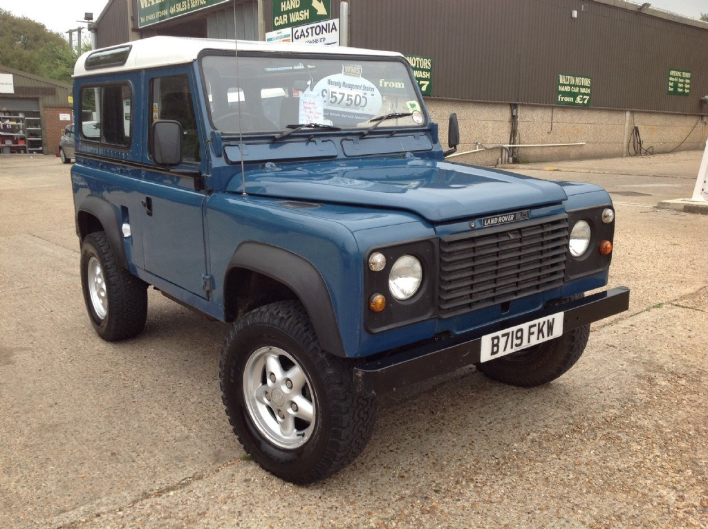 Used Land Rover Defender 90 Station Wagon 3 1 Turbo Diesel