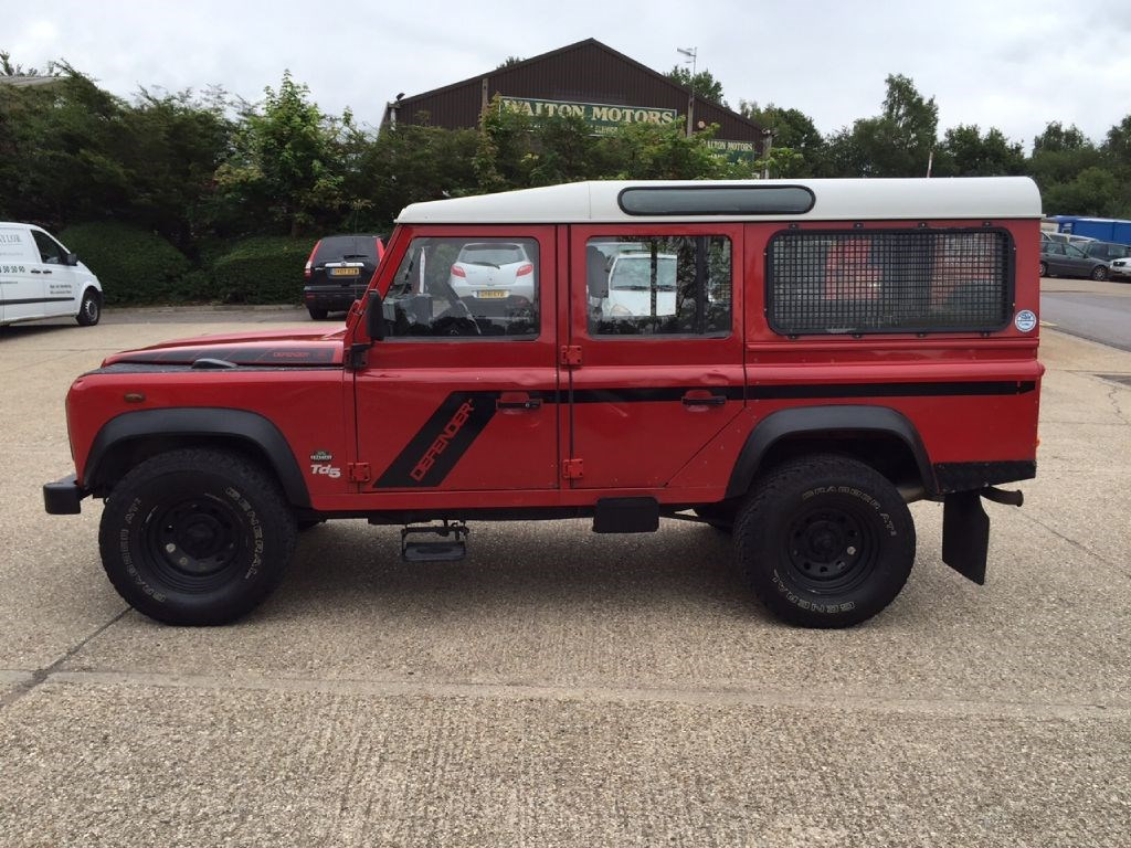 Used Land Rover Defender 110 Td5 12 Seater Station Wagon