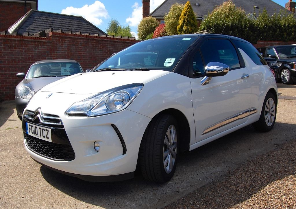 usedcitroen ds3 dstyle hdi 1 owner for sale in surrey