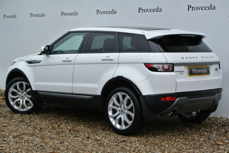 used white land rover range rover evoque for sale suffolk. Black Bedroom Furniture Sets. Home Design Ideas