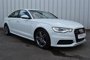 used Audi A6 TDI S LINE+ SAT NAV + BLUETOOTH + OPTICAL PARK + in wigan-lancashire