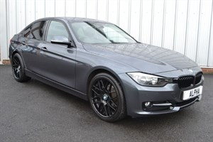 """used BMW 318d SPORT(FULL LEATHER & BLUETOOTH & 19"""" ALLOYS & £30 A YEAR ROAD TAX) in wigan-lancashire"""