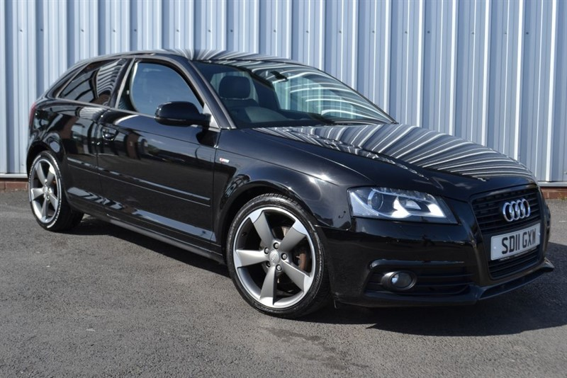 used Audi A3 TDI S LINE BLACK EDITION in wigan-lancashire