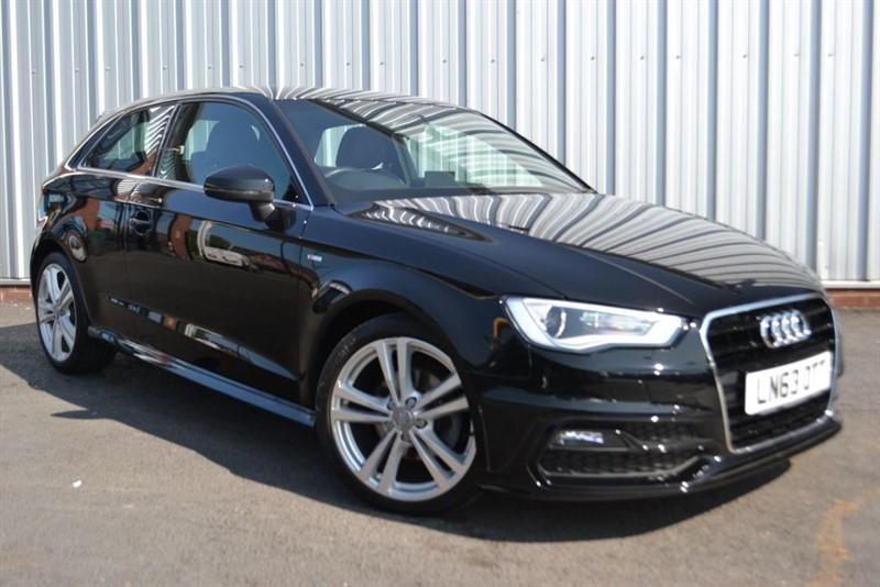 used Audi A3 TDI S LINE in wigan-lancashire