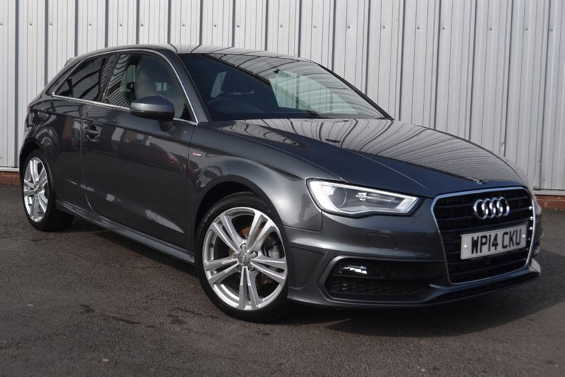 used Audi A3 TFSI S LINE in wigan-lancashire