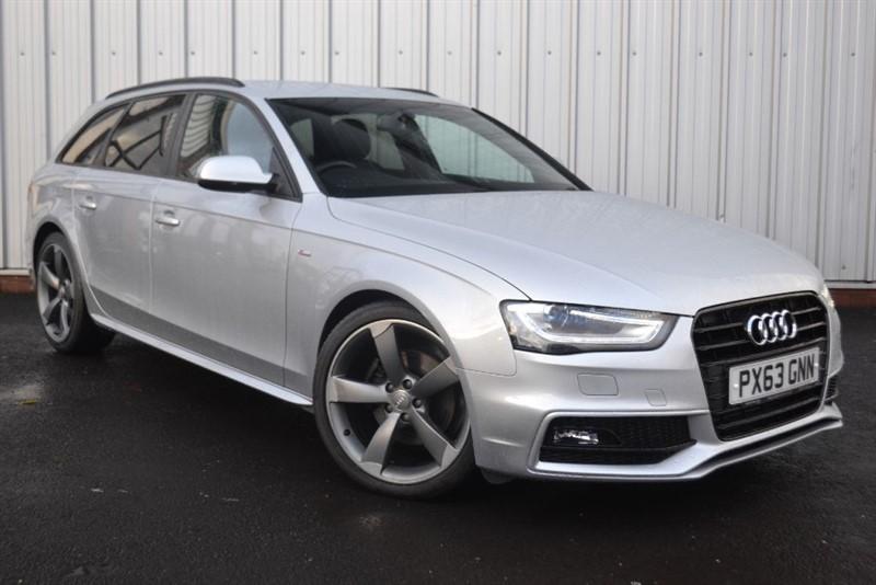 used Audi A4 Avant TDI S LINE BLACK EDITION in wigan-lancashire