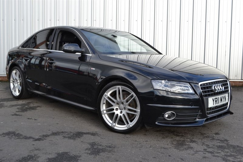 used Audi A4 TDI S LINE SPECIAL EDITION in wigan-lancashire