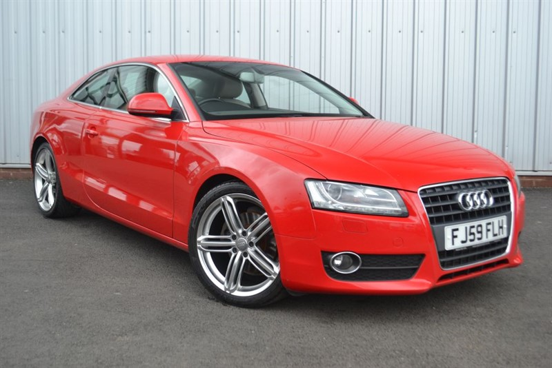 used Audi A5 TFSI in wigan-lancashire